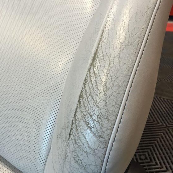 Réfection sièges cuir LEXUS CT200H