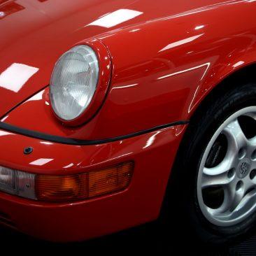 Porsche 911(964) Cabriolet (Rouge Indien)