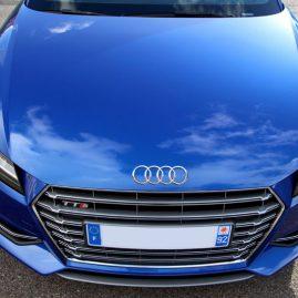 AUDI TTS (8S) Bleu Sepang